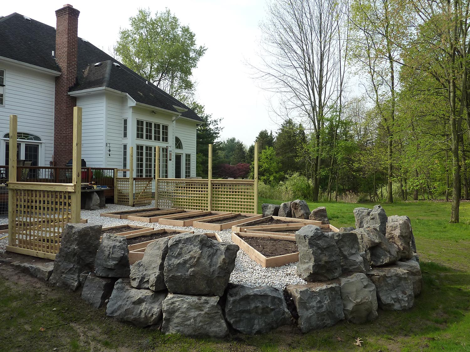 Natural Stonework Landscape Design Build And