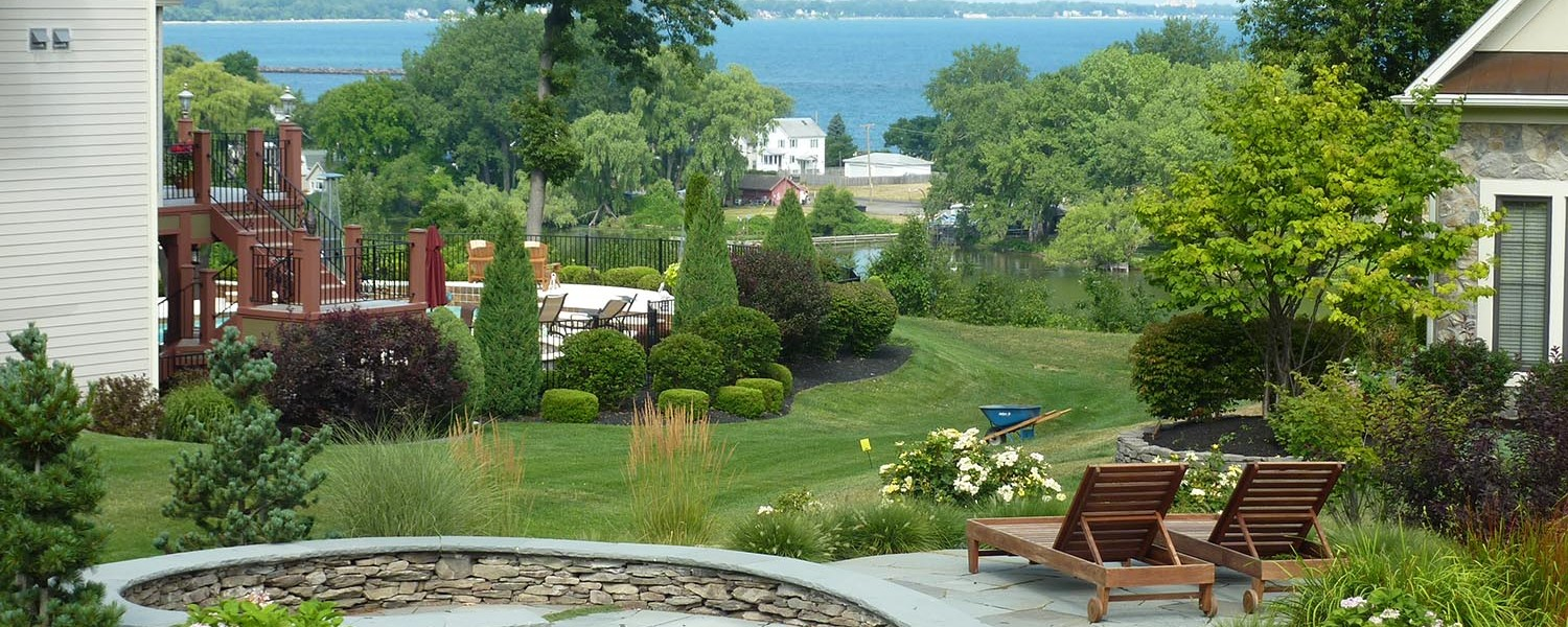 Landscape design build and maintenance waterford for Pool design rochester ny